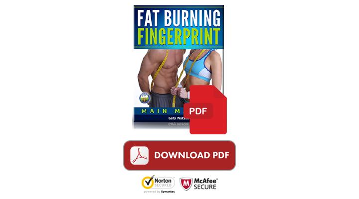 Fat Burning Fingerprint buy