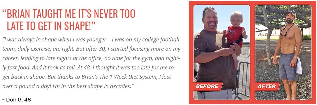 1 Week Diet PDF