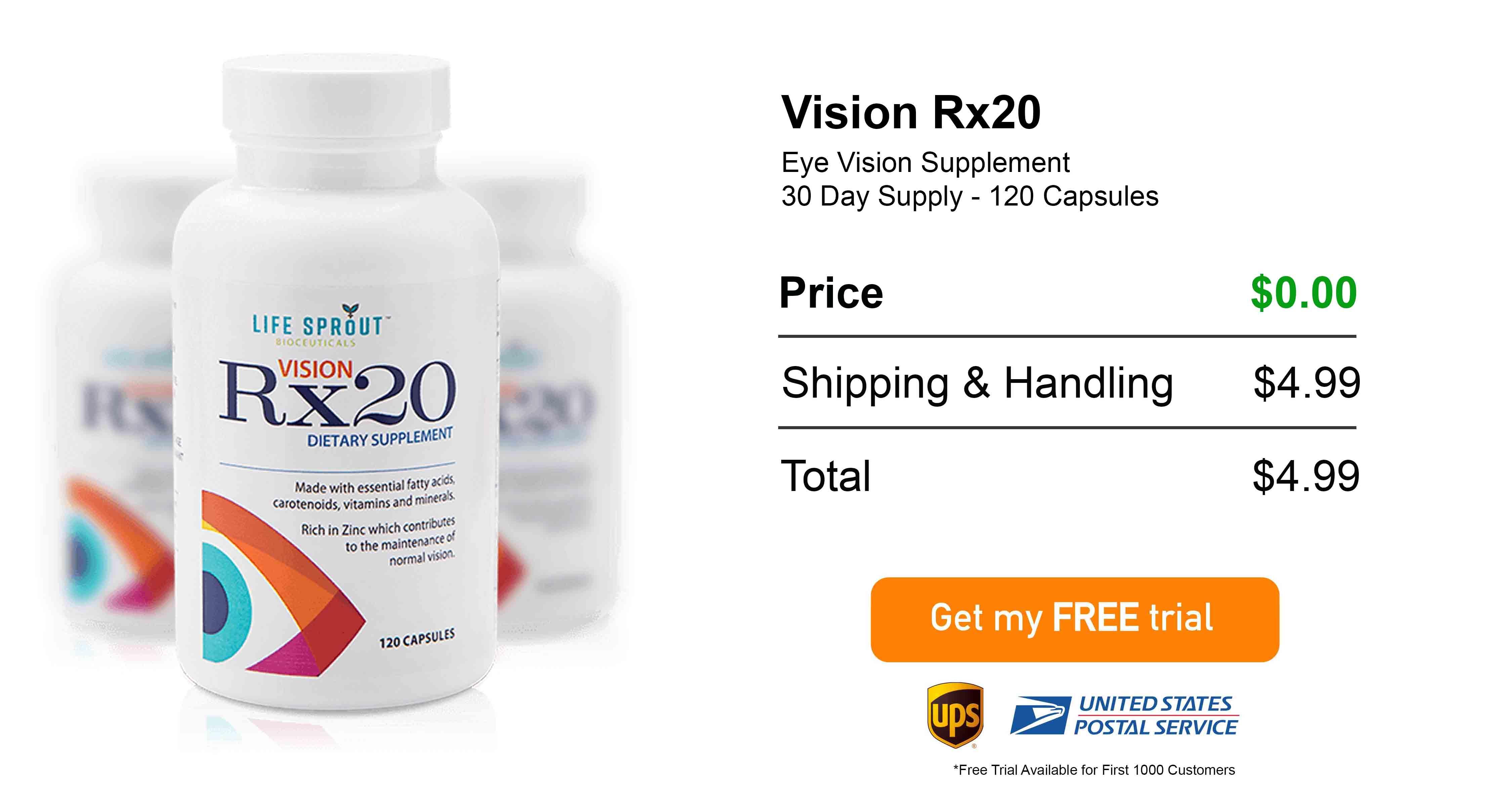 Vision Rx20 Free Trial