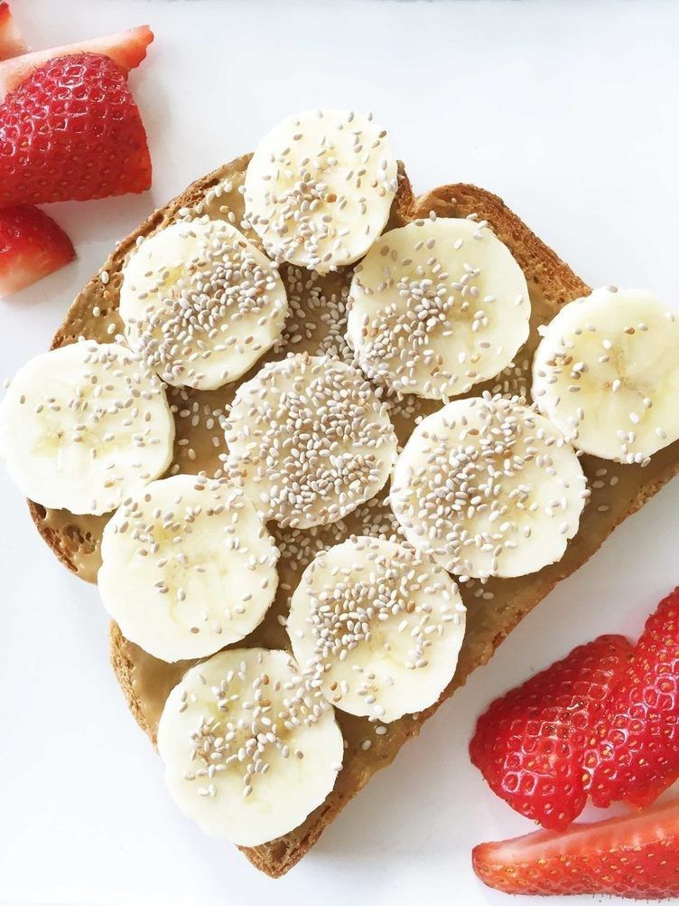 Nut Butter and Chia Toast