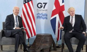 Discussion On The Origin Of The Pandemic In G7 Summit